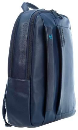Рюкзак кожаный Piquadro CA3869P15 синий