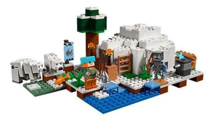 Конструктор LEGO Minecraft Иглу