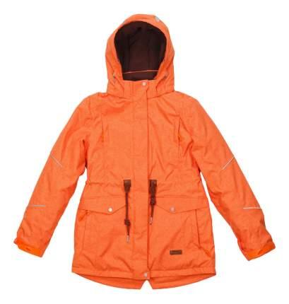 Куртка-парка atPlay для девочки оранжевая 152 размер