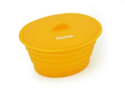Овальный контейнер - складной ланчбокс 12x10x7 см / 320 мл (силикон) FISSMAN 7485
