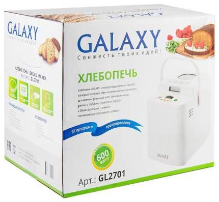 Хлебопечка Galaxy GL 2701 White