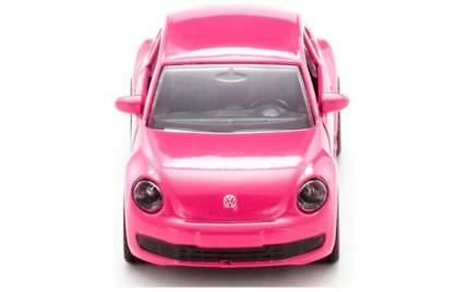 Коллекционная модель Siku машины Volkswagen Beetle розовая 1:64 1488