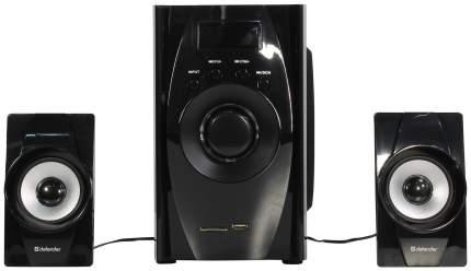 Колонки компьютерные DEFENDER X200 Черный 2,1, 20W, Bluetooth, FM/MP3/SD/USB,ДУ
