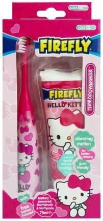 Детская зубная электрическая щетка Firefly SmileGuard Hello Kitty Turbo Power Max Набор 6+