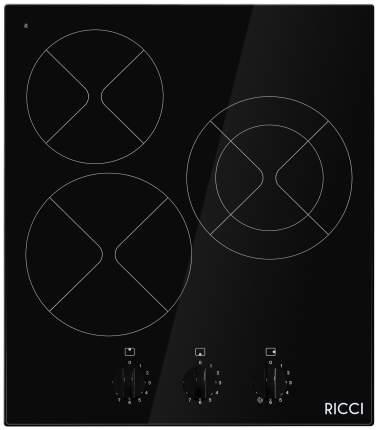 Встраиваемая варочная панель электрическая RICCI KS-T35011BR Black