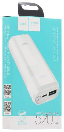 Внешний аккумулятор Hoco B35A 5200 мА/ч White