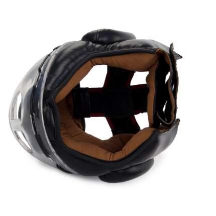 Боксерский шлем Jabb JE-2104 черный L