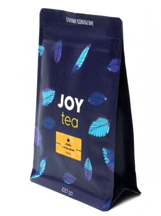 Чай черный Joy айва с персиком 100 г