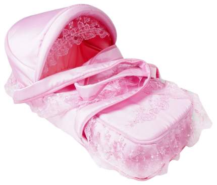 Люлька-переноска Лео Восточная Сказка розовая