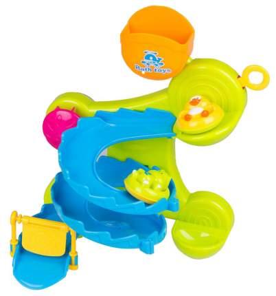 Горка для ванной Веселое купание в наборе с аксессуарами 2 вида