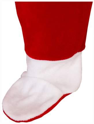 """Комплект """"Дед Мороз"""", коллекция  """"Новогодняя"""", цвет: красный, декор: стразы, рост 68-74 см"""