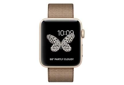 Смарт-часы Apple Watch Series 2 42mm Gold Al/Caramel (MNPP2RU/A)