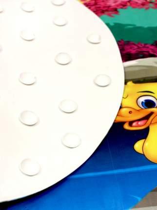 Коврик противоскользящий в ванну BATH PLUS Три утенка