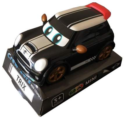 Машина Go MINI CREW-Zers на платф., D/B10 шт.,4 вида(Pace,Flame,Slix,Dash),арт.0368.