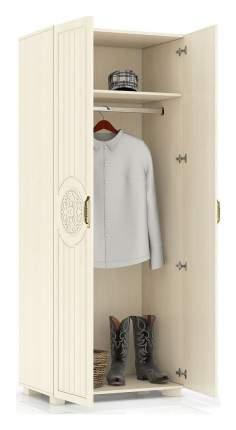 Платяной шкаф Компасс-мебель Монблан МБ-1 KOM_MB1_1 80x50x200, береза снежная