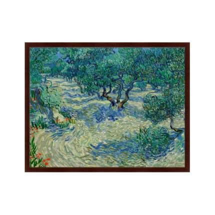 Картина Olive Orchard, 1889г,, 78,5х100см, Картины в Квартиру