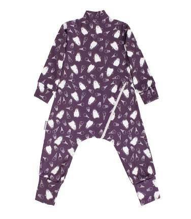 Комбинезон-пижама Bambinizon Пингвины ЛКМ-БК-ПИНГ р.56