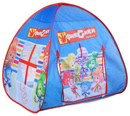 Игровая палатка Играем Вместе Фиксики с тоннелем GFA-TONFIX01-R
