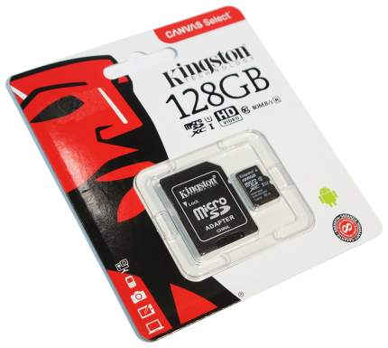 Карта памяти Kingston Micro SDXC 128GB