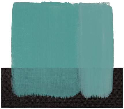 Масляная краска Maimeri Classico синий бирюзовый 20 мл