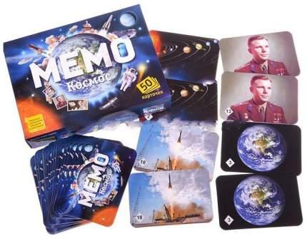 Семейная настольная игра Бэмби Мемо Космос 7208