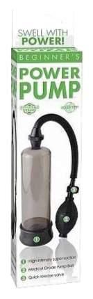 Дымчатая мужская помпа Beginner s Power Pump