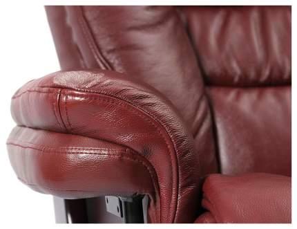 Кресло для гостиной Duorest 105х81х132 см, красный/красный