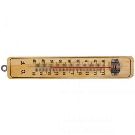 Термометр бытовой оконный деревянный без ртути сувенирный