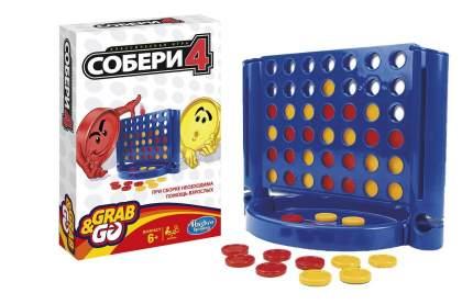 Семейная настольная игра Hasbro Games Собери четверку B1000