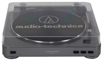 Проигрыватель виниловых дисков Audio-Technica AT-LP60-USB Серебристый