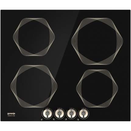 Встраиваемая варочная панель индукционная Gorenje IC6INI Black