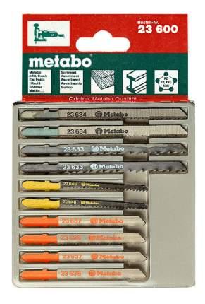 Набор пилок для лобзика metabo 623600000