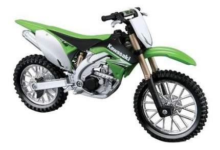 Мотоцикл металлический Bburago Kawasaki KX 450F 1:18