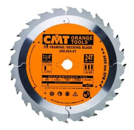 Диск по дереву для дисковых пил CMT 251.040.07-X10