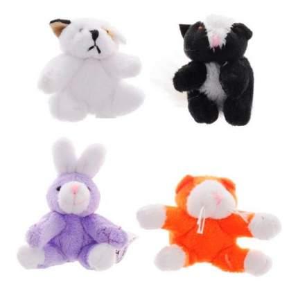 Мягкая игрушка Beanzees B34031 Мини плюш в наборе Песик, Скунс, Кролик, Котик