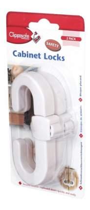 Защитный замок для створч. двер, (2шт) белый