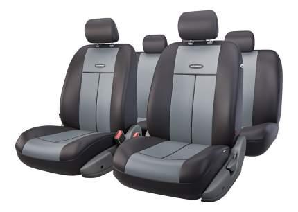 Комплект чехлов на сиденья Autoprofi TT-902P BK/D.GY