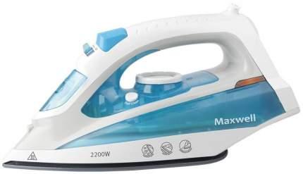 Утюг Maxwell MW-3055 White/Cyan