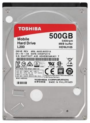 Внутренний жесткий диск Toshiba L200 500GB (HDWJ105UZSVA)