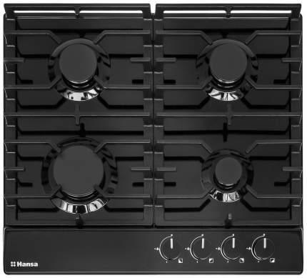 Встраиваемая варочная панель газовая Hansa BHGS63030 Black