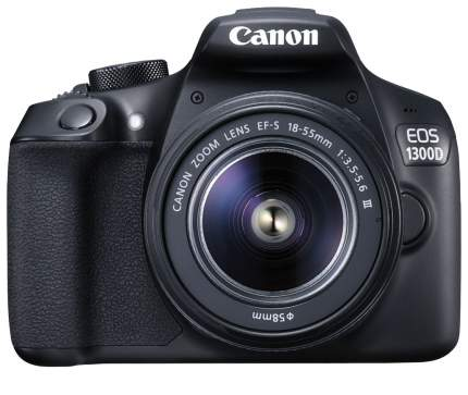 Фотоаппарат зеркальный Canon EOS 1300D 18-55 IS III Black