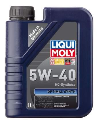 Моторное масло Liqui moly Optimal Synth 5W-40 1л