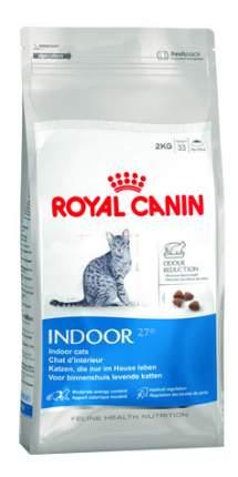 Сухой корм для кошек ROYAL CANIN Home Life Indoor, для домашних, домашняя птица, 2кг