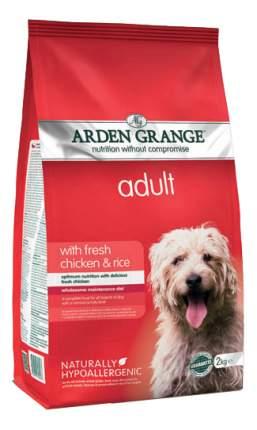 Сухой корм для собак Arden Grange Adult, курица, рис,  2кг