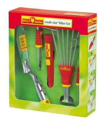 Набор садовых инструментов WOLF-Garten P 243 LU-Z/LA-M/LD-M/LN-M/ZM03 красный (3732643)