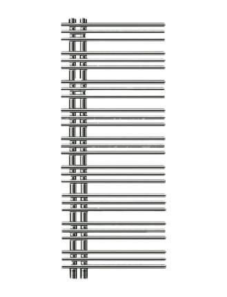 Электрический полотенцесушитель TermoSmart Бригантина BRG005E хром