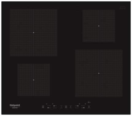 Встраиваемая варочная панель индукционная Hotpoint-Ariston KIA 640 C Black