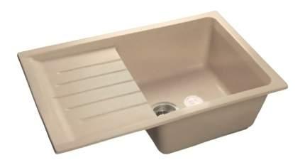 Мойка для кухни мраморная GranFest Practic GF-P760L белый