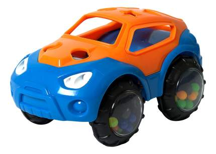 Машинка пластиковая Baby Trend Оражнево-синия