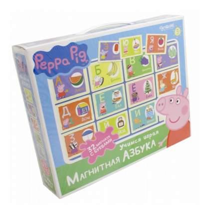 Семейная настольная игра Оригами Peppa Pig.Магнитная азбука